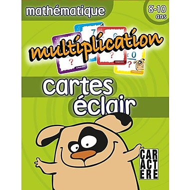 Caractere Flash Cards, Multiplication