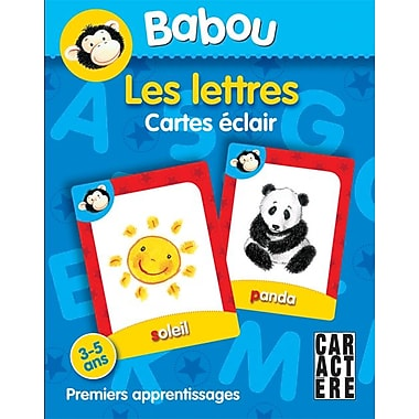 Caractere Flash Cards, Letters