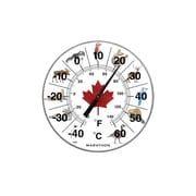 "Marathon Large 12"" Indoor/Outdoor Thermometer"