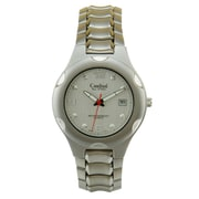 Cardinal 2883 Men's Analog Casual Watch, Steel Case and Bracelet