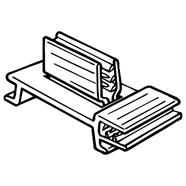 FFR Merchandising 204 SuperGrip Dual-Action Flag Sign Holder, 0.75