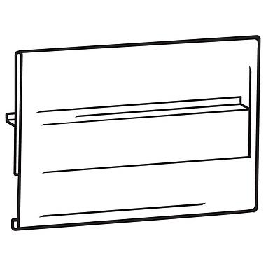 FFR Merchandising ? Porte-affiche à face recouverte CS2020 Econo, fixation centrale, 3,5 H x 5,5 L (po), 22/paquet (402153809)