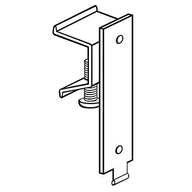 FFR Merchandising ? Support pour glissière, 75/paquet (604652201)