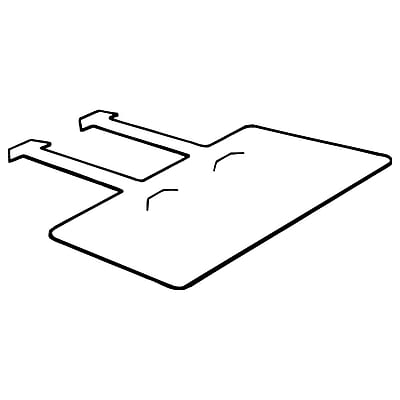 FFR Merchandising LH Wire Basket Label Holder, 1 1/4
