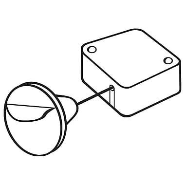 FFR Merchandising Retractable Tethers, Flexible End, 4/Pack (1500702403)