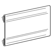 FFR Merchandising Covered-Face Channel With Adhesive, Non-Glare, 16/Pack (1502440041)