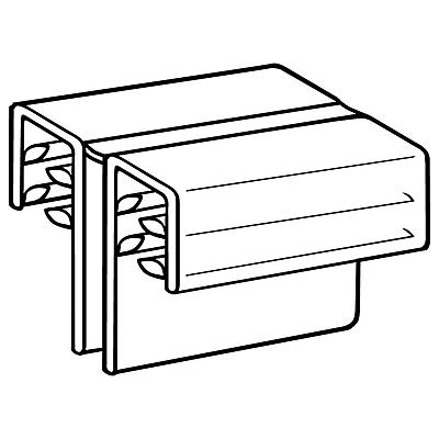 FFR Merchandising SuperGrip® Hinged Panel/Sign Holder, 1