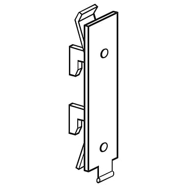 FFR Merchandising Gondola Upright Bracket, 75/Pack (1515175701)