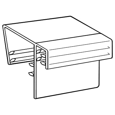 FFR Merchandising DF SuperGrip® Display Sign Holder, .080
