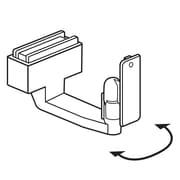 FFR Merchandising Magnetic Under-Shelf Mount Bracket with Swivel, Beige, 6/Pack (1816255300)