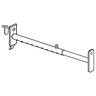 FFR Merchandising Metal Telescopic Bracket, Gondola Upright, 6