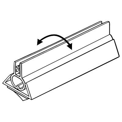 FFR Merchandising PVB Perfect View SuperGrip® Sign Holder, 1