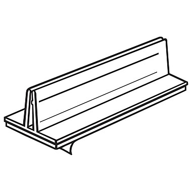 FFR Merchandising - Porte-cartes BR Econo, 6 long. (po), 40/paquet (2162284002)