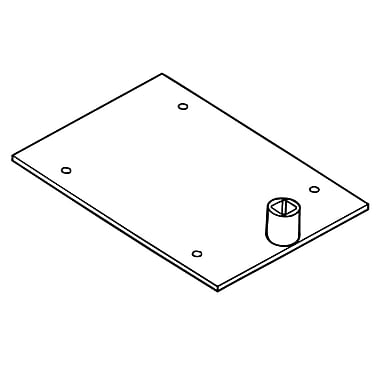 FFR Merchandising - Système pour cadre pour affiche, bases, base palette à tige unique, 14/paquet (3701950202)