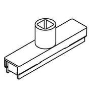 FFR Merchandising Sign Frame System, Bases, White, Single-Stem Magnetic Base, 6/Pack (3702346201)