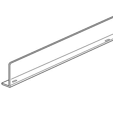 FFR Merchandising ? Barrière avant et séparateur rectangulaire universels, 5 haut. x 48 long. (po), styrène, 4/pqt (4105936802)