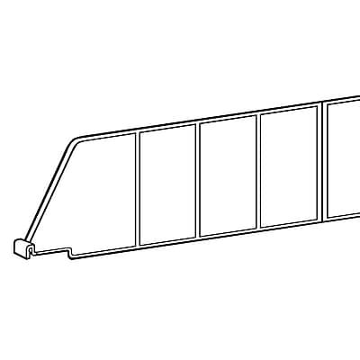 FFR Merchandising Contoured Shelf Dividers, 3