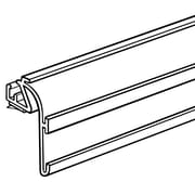"FFR Merchandising Contoured Double Channel Front Fence, 48""L, 6/Pack (4108097101)"