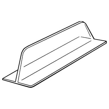 FFR Merchandising ? Séparateur moulé sous vide, 3 haut. x 12 long. (po), sans adhésif, 22/pqt (4134650300)