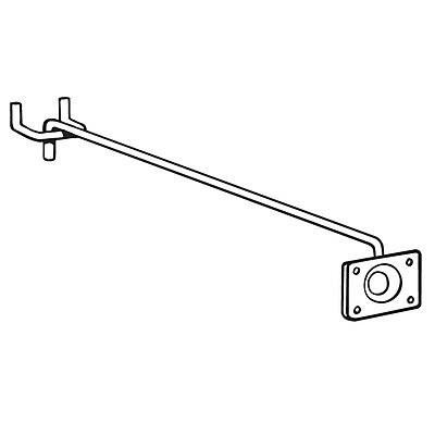 FFR Merchandising Peg Arm Sign System, Peg Arm, 30/Pack (5102267302)