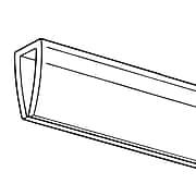 "FFR Merchandising BHE Budget Banner Hanger/Stabilizer, 24"" L, Clear, 26/Pack (6102095410)"