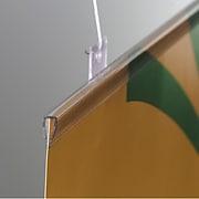 "FFR Merchandising BHE Budget Banner Hanger/Stabilizer, 36"" L, Clear, 18/Pack (6102095418)"
