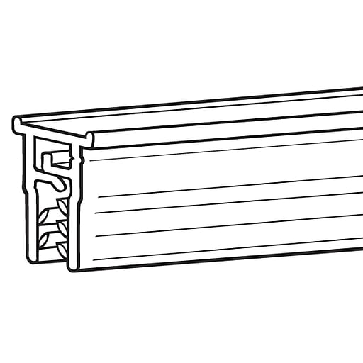 "FFR Merchandising Mercury™ Inserts, 24"" L, 12/Pack (6110258405)"