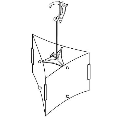 FFR Merchandising ? Ensemble universel de présentoirs mobiles TR 90 Triad, crochet, 14/pqt (6201916702)