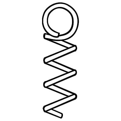 FFR Merchandising SCL Spiral Ceiling Loop, 1 1/4