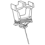 FFR Merchandising Eagle™ Ceiling Clip, 4' L, White, 100/Pack (6401693802)
