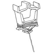 FFR Merchandising Eagle™ Ceiling Clip, 8' L, White, 100/Pack (6401693804)