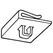 """FFR Merchandising 7103 Ceiling Grid Loop, 3/4"""" W x 3/4"""" L, 175/Pack (6408092800)"""