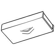 """FFR Merchandising CH Magnetic Ceiling Loop, 1"""" W x 2"""" L, 10/Pack (6408957900)"""