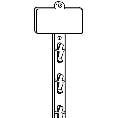 FFR Merchandising Double-Duty™ Merchandising Strip, 31 1/8