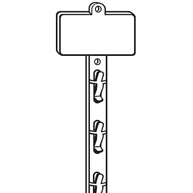 FFR Merchandising Double-Duty 12-Station Merchandising Strip, 31.13