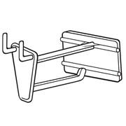 "FFR Merchandising PHS Pegboard/Slatwall Hook with Scan Plate, 2"" L, 50/Pack (7102985200)"