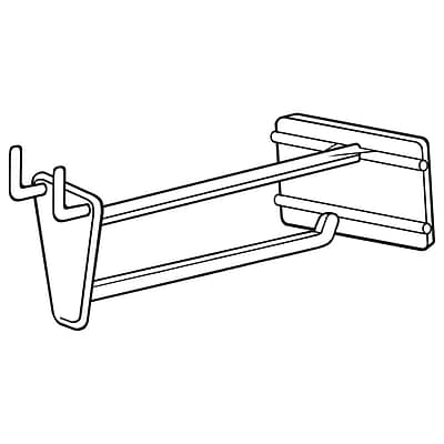 FFR Merchandising PHS Pegboard/Slatwall Hook with Scan Plate, 4