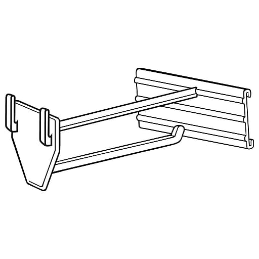 """FFR Merchandising UHC Universal Hook with C-Channel, 4""""L, 50/Pack (7201451301)"""