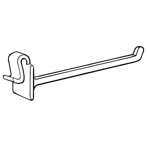 """FFR Merchandising OW Hook for Corrugated/Wire, 6"""" L, 150/Pack (7202224203)"""