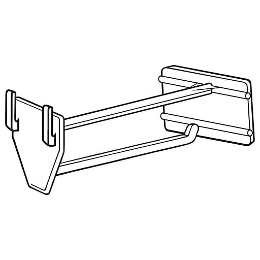 """FFR Merchandising UHS Universal Hook With Scan Plate, 4""""L, 50/Pack (7205391601)"""