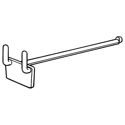 FFR Merchandising PD Peg Hole Display Hook, 4