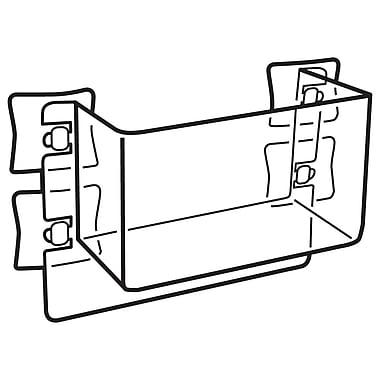 FFR Merchandising ? Bac pour vitre haute visibilité, 6 larg. x 3 prof. (po), 4/paquet (7904421004)