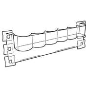 "FFR Merchandising Hi-Vis® Slotted Bin for Glass, Standard Can or Bottle (6), 2-3/8"" Diameter, 2/Pack (7904421005)"