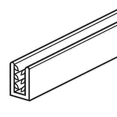 FFR Merchandising ? Profilé de panneau en U SGH SuperGrip, blanc, 0,13 à 0,19 de cap. (po), 8/paquet (8115266600)