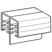 "FFR Merchandising DF SuperGrip® 3/16'' Panel Holder, 1"" L, 100/Pack (8116202801)"