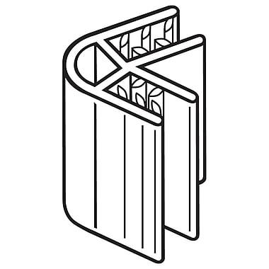 FFR Merchandising ? Profilé de panneau à 2 voies 60 SuperGrip, 1 po long., 100/pqt (8118088200)