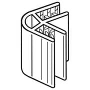 "FFR Merchandising 60 SuperGrip® 2-Way Panel Former (60Degree), 1"" L, 100/Pack (8118088200)"