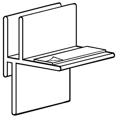 FFR Merchandising CC100 and CC200 Corr-A-Clip® Shelf Supports, 1/4