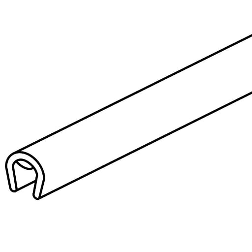 FFR Merchandising Corr-A-Guard™ Edge Molding, Gloss White (8202702403)