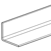 """FFR Merchandising L Bracket With Hinge, 48""""L, Clear, 4/Pack (8206264001)"""